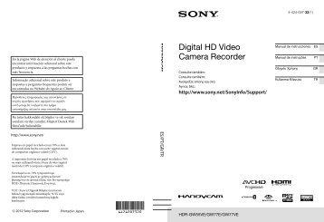 Sony HDR-GW77VE - HDR-GW77VE Istruzioni per l'uso Turco
