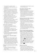 Sony DCR-SR78E - DCR-SR78E Istruzioni per l'uso Portoghese - Page 3