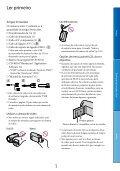 Sony HDR-CX130E - HDR-CX130E Istruzioni per l'uso Portoghese - Page 3