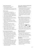 Sony HDR-CX370E - HDR-CX370E Istruzioni per l'uso Finlandese - Page 3