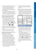 Sony HDR-CX130E - HDR-CX130E Istruzioni per l'uso Ceco - Page 5