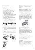 Sony HDR-CX130E - HDR-CX130E Istruzioni per l'uso Croato - Page 5