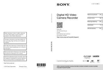 Sony HDR-CX220E - HDR-CX220E Istruzioni per l'uso Rumeno