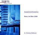 Go Ahead GmbH - Foris AG