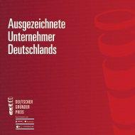 Alumnibroschüre - Deutscher Gründerpreis