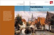 Handleiding Historisch huizenonderzoek in Haarlem (en omliggende gemeenten)