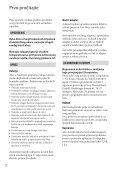 Sony DCR-SX34E - DCR-SX34E Istruzioni per l'uso Croato - Page 2