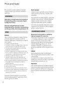 Sony DCR-SX44E - DCR-SX44E Istruzioni per l'uso Serbo - Page 2