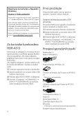 Sony HDR-AS15 - HDR-AS15 Istruzioni per l'uso Croato - Page 2