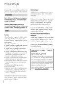 Sony HDR-CX360VE - HDR-CX360VE Istruzioni per l'uso Croato - Page 2