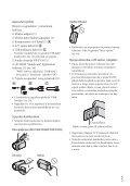 Sony HDR-CX360VE - HDR-CX360VE Istruzioni per l'uso Croato - Page 5