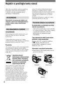 Sony DCR-HC17E - DCR-HC17E Istruzioni per l'uso Slovacco - Page 2