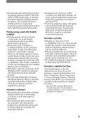 Sony DCR-HC17E - DCR-HC17E Istruzioni per l'uso Slovacco - Page 3