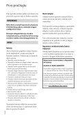 Sony HDR-CX160E - HDR-CX160E Istruzioni per l'uso Croato - Page 2