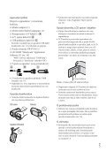 Sony HDR-CX160E - HDR-CX160E Istruzioni per l'uso Croato - Page 5