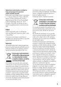 Sony HDR-CX520VE - HDR-CX520VE Istruzioni per l'uso Croato - Page 3
