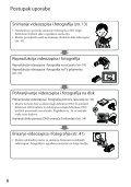 Sony HDR-CX520VE - HDR-CX520VE Istruzioni per l'uso Croato - Page 6