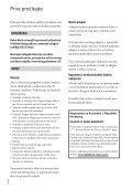 Sony HDR-CX560E - HDR-CX560E Istruzioni per l'uso Croato - Page 2