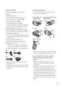 Sony HDR-CX560E - HDR-CX560E Istruzioni per l'uso Croato - Page 5