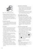 Sony HDR-CX560E - HDR-CX560E Istruzioni per l'uso Croato - Page 6