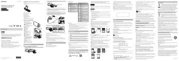 Sony HDR-AS30VW - HDR-AS30VW Istruzioni per l'uso Spagnolo