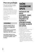Sony HDR-PJ330E - HDR-PJ330E  Croato - Page 2