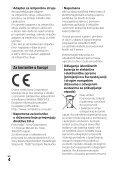 Sony HDR-PJ330E - HDR-PJ330E  Croato - Page 4