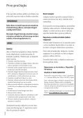 Sony NEX-VG20E - NEX-VG20E Istruzioni per l'uso Croato - Page 2