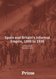 Spain and Britain's Informal Empire 1808 to 1936