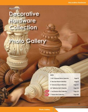 Decorative Hardware Collection Photo Gallery