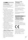 Sony FDR-AX33 - FDR-AX33 Istruzioni per l'uso Croato - Page 7