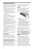 Sony XM-GTX6020 - XM-GTX6020 Istruzioni per l'uso Slovacco - Page 4