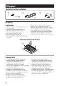 Sony XM-GTX6020 - XM-GTX6020 Istruzioni per l'uso Slovacco - Page 6