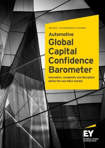 Global Capital Confidence Barometer