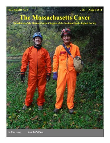 The Massachusetts Caver