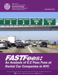 An Analysis of E-Z Pass Fees at Rental Car Companies in NYC