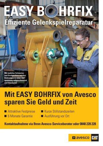 Mit EASY BOHRFIX von Avesco sparen Sie Geld und Zeit