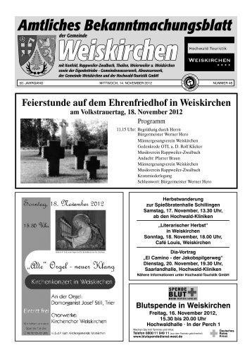 Herr Erwin Konz - Weiskirchen