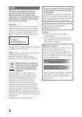 Sony MEX-DV1000 - MEX-DV1000 Istruzioni per l'uso Sloveno - Page 2