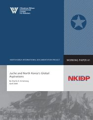 Juche and North Korea's Global Aspirations - Woodrow Wilson ...