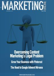 Overcoming Content Marketing's Legal Problem