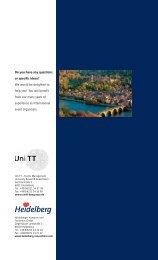 In the footsteps of Mark Twain, Thomas Jefferson ... - Meet Heidelberg