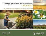 Stratégie québécoise sur les pesticides