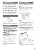Sony MEX-BT3800U - MEX-BT3800U Istruzioni per l'uso Serbo - Page 7