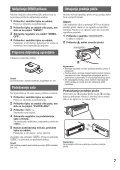 Sony MEX-BT3800U - MEX-BT3800U Istruzioni per l'uso Croato - Page 7