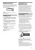 Sony MEX-N5100BT - MEX-N5100BT Istruzioni per l'uso Danese - Page 7