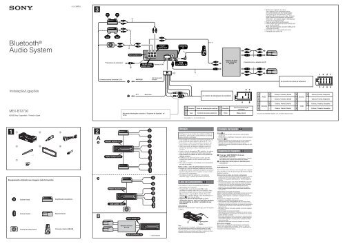 wiring schematic for sony mex n5000bt sony mexn5000bt
