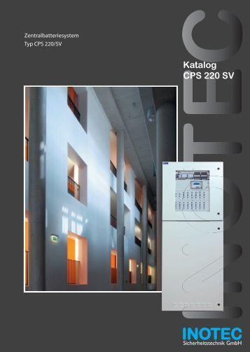Katalog CPS 220 SV - INOTEC Sicherheitstechnik GmbH