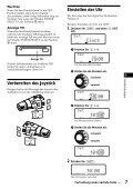 Sony CDX-C880R - CDX-C880R Istruzioni per l'uso Tedesco - Page 7