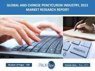 GLOBAL AND CHINESE PENCYCURON INDUSTRY, 2015 MARKET RESEARCH REPORT